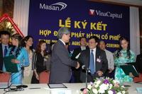 Lễ Masan ký kết với VinaCapital