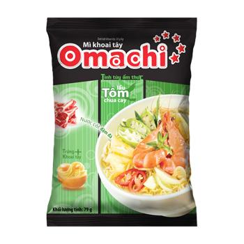 Mì khoai tây Omachi Lẩu Tôm Chua Cay